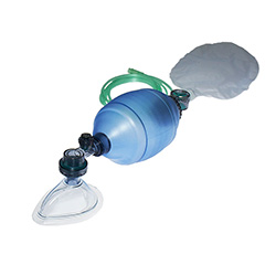 Large Resuscitator with Mask
